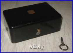 Antique SAMUEL TROLL FILS Airs Cylinder MUSIC BOX Diminutive WORKING Desk Top