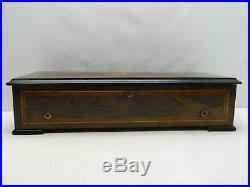 Antique Sainte Croix Henry Gautschi & Sons 10 Songs 74 Note Swiss Made Music Box