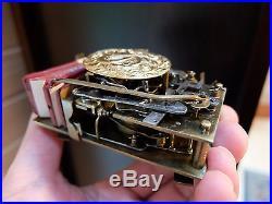 Antique Sterling Guilloche Singing Bird Box Automaton Music Box (watch Video)