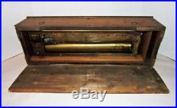 Antique Swiss 13 Cylinder Music Box Parts Or Repair