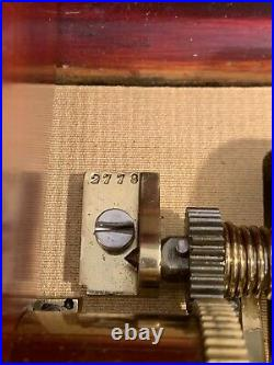 Antique Swiss Music Box. Six Airs. Lever Wind. Mid 1800s. Beautiful Sound