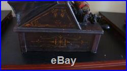 Antique The Gem Roller Organ Pat. May 31st 1887 +2 Cobs New Bellow & Pads Coming