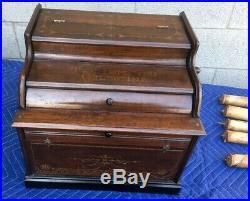 Antique The Improved Celestina Roller Organ
