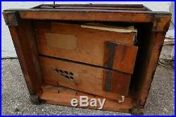 Antique concert roller organ with 15 cob roller needs restoration