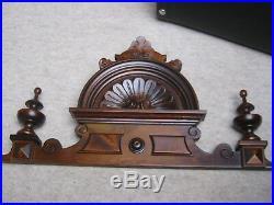 Beautiful top crown f. A big clock kaliope or wardrobe cabinet, music box etc