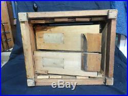 Concert Roller Organ & 10 Wood Cob Rolls