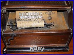 Concert Roller Organ 1880's