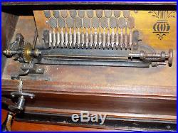 Concert Roller Organ with 15 COBS 1880's