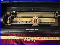 Cylinder Music Box, Sublime Harmonie