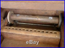 ESTATE FRESH! Old Antique GATELY & CO MELODIA Walnut Victorian ROLLER ORGAN