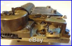 Early Swiss Music Box Movement For A Snuff Box