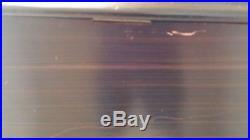 Etouffoirs en Acier Swiss 8 Song Cylinder Music Box 20X1210high 1800's works
