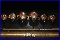 GIGANTIC Swiss Antique Bells in Sight Cylinder Music Box Circa 1880 Works