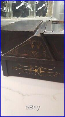 Gem Home Music Box Roller Organ with 20 Cobbs Vintage