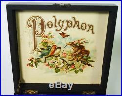 Great Sounding Antique Polyphon Disc Music Box