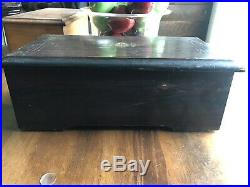 Jules Cudent Antique Cylinder Music Box