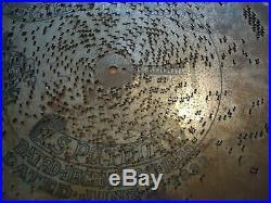 Lot Of 10 Antique Regina 15 1/2 Music Box Discs Polyphon