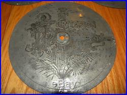 Lot of 10 Antique Criterion 8 3/4 Music Box Discs