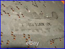Lot of 6 Antique Criterion 8 3/4 Music Box Discs