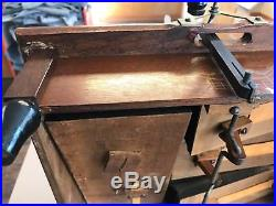 Mechanical Orguinette 14-note organette, Makes Good Vacuum, 3-bellows As is