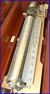 Mermod Freres Quattor Interchangeable Cylinder Music Box We Ship Worldwide