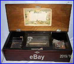 Music Antique Music Box Works But Needs Tlc