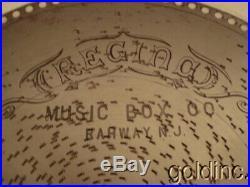 Nice Lot Of 10 Antique Regina 15 1/2 Music Box Discs Love'S Old Sweet Song N/R