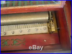 Nicole Freres Organ Celeste Cylinder Musical Box 19th C. SWISS Magnificent