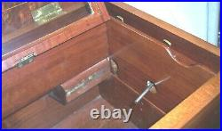 Old Music Antique Music Box Case Only, Beautiful Restored Case
