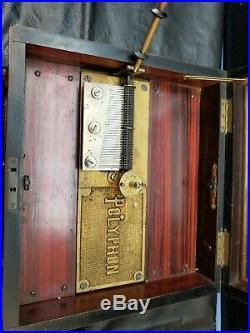 POLYPHON DISC MUSIC BOX Very Rare