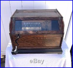 Pre-1900 Chautauqa Antique Roller Organ WORKS
