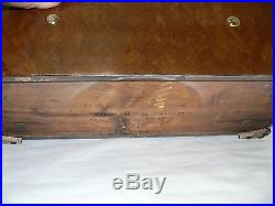 RARE ANTIQUE MUSIC BOX by Nicole Freres GENEVE with Dove Strikers Circa 1875