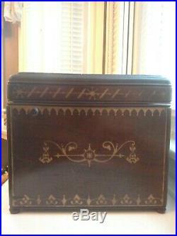 Rare Aurephone Organette/Music Box c. 1880 Victorian Antique Barrel/Roller Organ