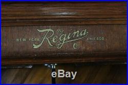 Regina Automatic Disc Changer Music Box