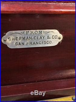 Regina Disc Music Box 67737 Sherman, Clay & Co