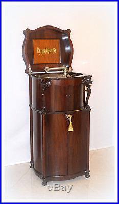 Regina Reginaphone 240 Music Box & Phonograph + Bonus We Ship Worldwide