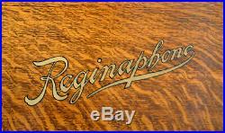 Regina Reginaphone Desk Music Box & Phonograph