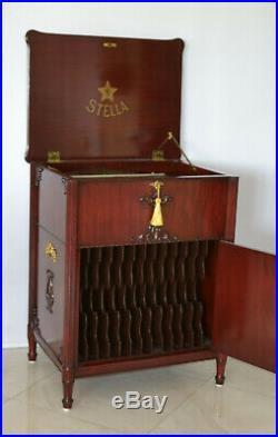Stella Grand Console Music Box We Ship Worldwide