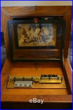 Symphonion Sublime Harmony Music Box