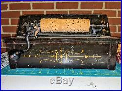 The Gem Roller Organ Musical Instrument 1895 1 Cob Reed Player Nr #7246