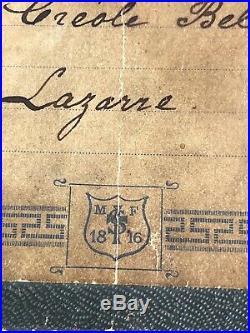 Victorian Jacot & Sons Jacot's MF 1816 Photo Album Music Box Works