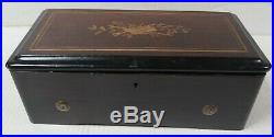Victorian Swiss 6 AIR Cylinder Music Box As Found