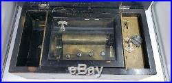 Victorian Swiss 6 AIR cylinder music box