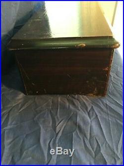 Vintage Paillard 12 Airs (songs) Antique Swiss Cylinder Music Box 1800's